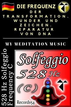 528 Hz Solfeggio Frequency C (The Frequency of Transformation. Miracles and Signs. Repair of DNA)