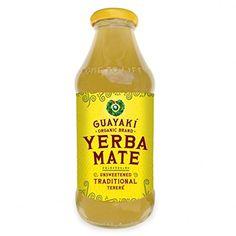 Guayaki Yerba Mate - Unsweetened Lemon Mint Terere - Case Of 12 - 16 Fl Oz. Yerba Mate, Oolong Tea, Iced Tea, Organic Brand, Tea Brands, Health Shop, Hot Sauce Bottles, Drinking Tea, Healthy Drinks