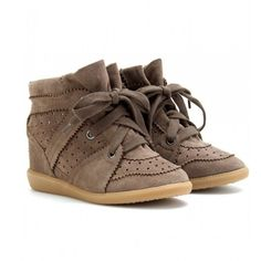 Gorgeous sneaker wedges!