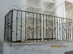 Project Mr.Panuwat  www.cibthai.com    cibthainews@gmail.com    +66 2 701 3158 Home Grill Design, Balcony Grill Design, Balcony Railing Design, Window Grill Design, Staircase Design, Wrought Iron Staircase, Wrought Iron Doors, Patio Railing, Railings
