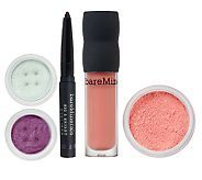 Bare Minerals!  love this purple! so deep & rich!  their lip gloss is SO good for your lips!  no drying them out and lasts long!  (it's a white highlighter that comes with it, looks blue in pic)  ~price is good too!