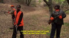 """Your favorite kind of cake can't be birthday cake."""
