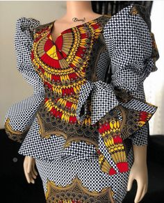 African Dresses For Kids, Latest African Fashion Dresses, African Dresses For Women, African Print Fashion, Africa Fashion, African Attire, African Women, African Fashion Traditional, African Print Dress Designs