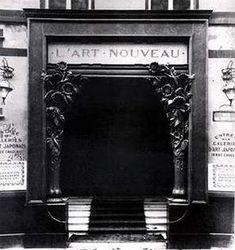 Samuel Bing Storefront - art dealer Siegfried (Samuel) Bing. In 1895 Bing founded a gallery in Paris, which he called 'L'Art Nouveau', which showed modern design.