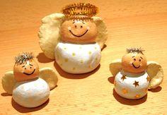 Weihnachtsengel aus Salzteig