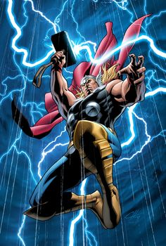 The Mighty Thor by GURU-eFX http://guru-efx.deviantart.com/art/The-Mighty-Thor-154627995