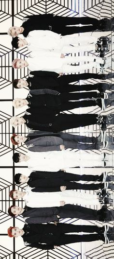 That moment when a band has so many members the picture is sideways!! hahahahaha