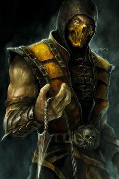 Scorpion Mortal Kombat X Artwork In Resolution Sub Zero Mortal Kombat, Escorpion Mortal Kombat, Mortal Kombat Tattoo, Mortal Kombat X Scorpion, Reptile Mortal Kombat, Mileena, Mortal Kombat X Wallpapers, Arte Viking, Noob Saibot