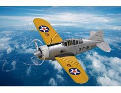 The Hobby Boss Brewster F2A Buffalo Easy Assembly in 1/72 scale from the plastic aircraft model range accurately recreates the real life US fighter aircraft flown during World War II. This Hobby Boss aircraft model requires paint and glue to complete.