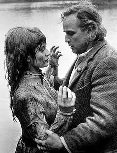 Filming scenes for The Nightcomers with Stephanie Beacham in 1971. It was a picture I enjoyed making. Based on Henry James's The Turn of the Screw, it was directed by Michael Winner, an Englishman who, like David Niven, had an arch sense of humor as well as a stout, characteristically British sense of humor as well as a stout, characteristically British sense of class.