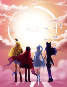 RWBY - Tribute to Monty Oum by Nijuuni on DeviantArt