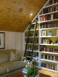 Even a small cottage need plenty of room for books