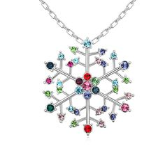 Snowflake with Crystals (colors) - Q189.00