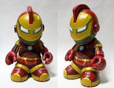 Kidrobot Ironman Mascot by Matcandraw is cool :)