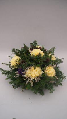 Ikebana, Funeral, Digital Camera, Dandelion, Floral Design, Wreaths, Flowers, Plants, Art