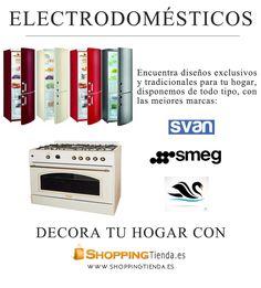 Encuentra los mejores diseños y productos en #electrodomésticos, decora y haz funcional a la vez tu hogar con www.shoppingtienda.es #svan #smeg