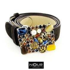 Belt up in style... #nourlondon #jewelled #beltbuckle #crystals #pearls #diamante #statement #jewelstagram #instajewels #wholesale #london