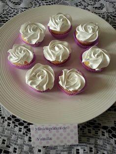 Mini Cupcakes de vainilla