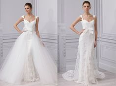 Wedding Dress Transformations  #LaubergeDelMarWeddings #weddingtrends   Convertible Wedding Gowns | Weddings Illustrated