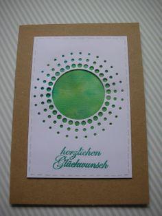 Geburtstagskarte  #miasstempelküche #memorybox #watercolour #misting #embossing