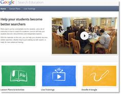 Free Common Core related technology lesson plans - teach kids how to search the internet.