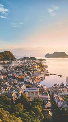 In Alesund, Norway. Alesund, Best Vacation Destinations, Best Vacations, Vacation Packing, Lofoten, Bergen, Oslo, Aerial Photography, Travel Photography