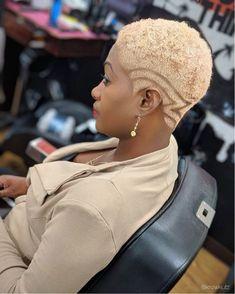 Natural Hair Pixie Cut, Short Bleached Hair, Short Cropped Hair, Natural Hair Weaves, Short Grey Hair, Short Hair Cuts, Natural Hair Styles, Short Hair Styles, Short Hair Designs