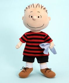 "Amazon.com: Madame Alexander 14"" Linus Cloth Doll Peanuts Collection: Toys & Games"