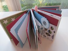 Creating With Carol: Directions for Mini Scrapbook