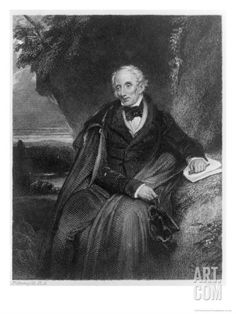 william wordsworth br poet tintern abbey ode  portrait of william wordsworth giclee print by frederick richard pickersgill