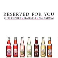 Reserved For You - Chef Inspired Sparkling All Natural