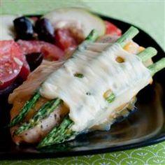 Cheesy Asparagus Chicken Allrecipes.com