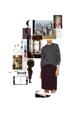 """""""Untitled #2461"""" by duchessq ❤ liked on Polyvore featuring Disney, 3.1 Phillip Lim, Balenciaga, Michael Kors, Mulberry, Cartier, Miriam Merenfeld, Georg Jensen, Astley Clarke and Kate Spade"""