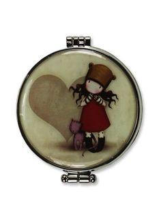Santoro Gorjuss Purrrrfect Love Compact Mirror