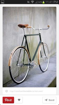 Wooden style painted fender idea