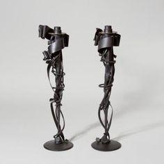 Candlesticks, 1998 by Albert Paley
