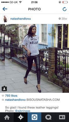 Stripes n leather