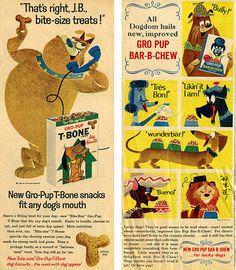 Gro Pup dog food ads