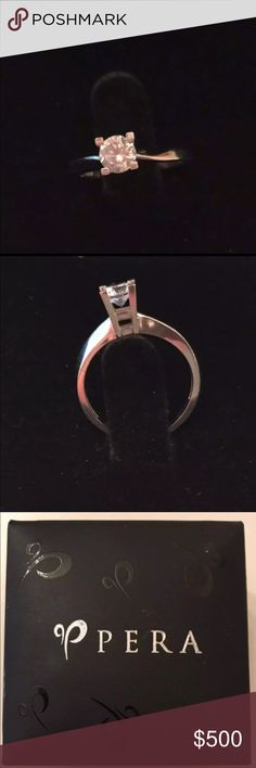 14K Gold engagement Ring 14K Gold. Size-7. Never used. The diamond is not too big or not too small, simple and elegant. Retail price-$1,250. Brought in from Turkey. Jewelry Rings