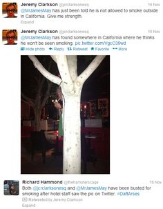 Hammond's hastag = awesome.  (Brilliant cohosts there, eh? :p)
