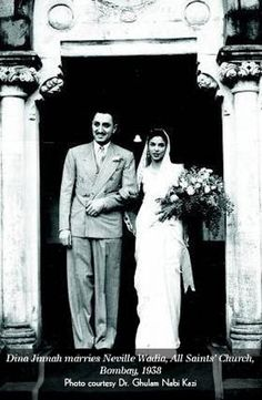 Dina Jinah, Pakistans Muhammad Ali Jinnahs only child, from Second Wife Rattanbai (Maryam) Jinnah, Married to Nevill Wadia. Pakistan Art, History Of Pakistan, History Images, History Facts, General Knowledge Book, The Great Migration, Galaxy Pictures, Daughter Love, Daughters
