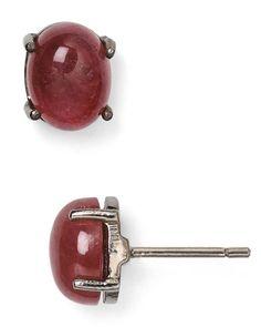 Ela Rae Heidi Tourmaline Stud Earrings