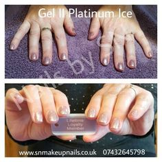 Gel II in Platinum Ice.  Fabulous colour