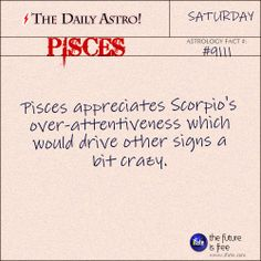 Pisces Daily Astro!: Have you seen your Love Scope this week?  Visit iFate.com now! Pisces Daily, Pisces And Taurus, Daily Astrology, Scorpio Horoscope, Pisces Woman, Astrology Signs, Zodiac Signs, Pisces Sign, Pisces And Scorpio Compatibility