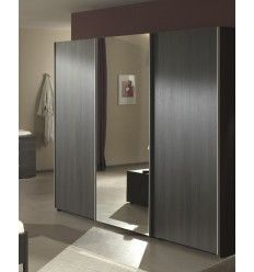 1000 ideas about porte coulissante miroir on pinterest for Armoire chambre porte coulissante miroir