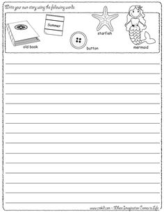 Sports   drawing   writing   stories   story rocks   kindergarten   first  grade   Reading Rockets