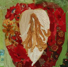 Original Art Quilt, Quilt Art, textile Wall hanging, Home decor, Fiber Art, Quilted Picture, Eve in Paradise, beauty and love, Red apple, gentle girl  DESCRIPTION This is one of a kind fiber art quilt. Its amazing bright and joyful wall hanging. The subject of this exceptional textile art is a fantasy about the eternal temptation of beauty and love. This textile wall hanging brings to the room atmosphere of the holiday. This original Art Quilt is created by my own design. Temptation Measures…