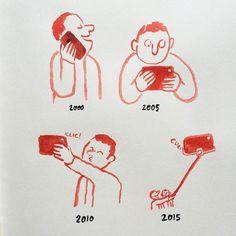 Dias Modernos – As ilustrações engraçadas e satíricas de Jean Jullien