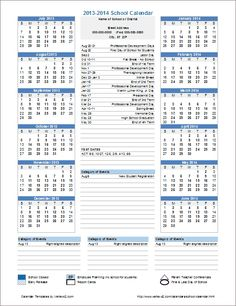Yearly Birthday Calendar Template for Excel: You can update the year ...