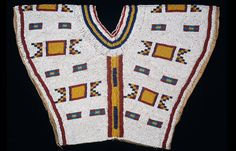 Beaded Yoke, Cree. NMNH.